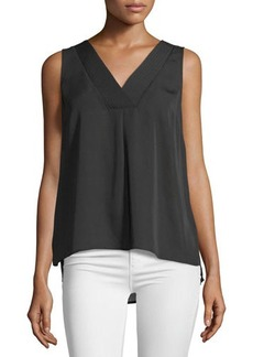 Laundry by Shelli Segal Sleeveless Double-Layer Top