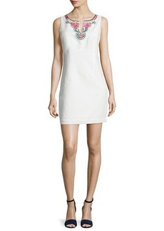 Laundry by Shelli Segal Sleeveless Embellished Mini Dress