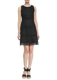 Laundry by Shelli Segal Sleeveless Fit and Flare Dress, Black