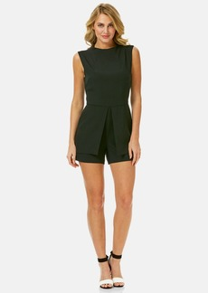 Laundry by Shelli Segal Sleeveless Peplum Romper