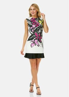 Laundry by Shelli Segal Sleeveless Print Sheath Dress