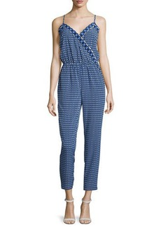 Laundry by Shelli Segal Sleeveless Printed Jumpsuit  Sleeveless Printed Jumpsuit