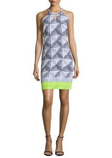 Laundry by Shelli Segal Sleeveless Printed Sheath Dress