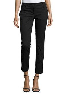 Laundry by Shelli Segal Slim-Fit Cotton-Blend Ankle Pants