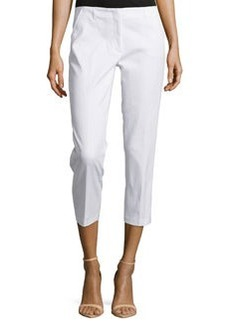 Laundry by Shelli Segal Slim-Fit Cropped Pants, Optic White