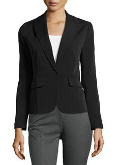 Laundry by Shelli Segal Stitch-Detailed Jacket, Black