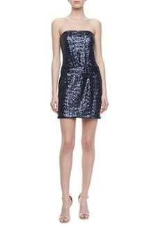 Laundry by Shelli Segal Strapless Sequin Dress, Night Blue