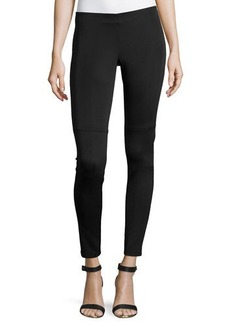 Laundry by Shelli Segal Stretch-Knit Scuba Leggings