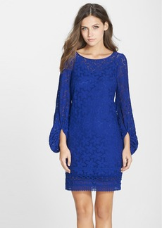Laundry by Shelli Segal Stretch Lace Shift Dress