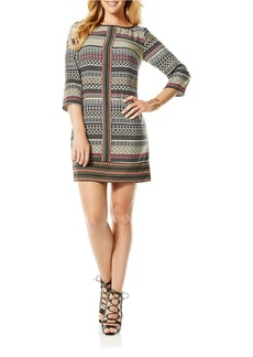 LAUNDRY BY SHELLI SEGAL Striped Shift Dress