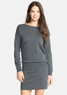 Laundry by Shelli Segal Surplice Back Blouson Sweater Dress