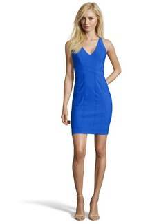 Laundry by Shelli Segal tide pool stretch banded racerback dress