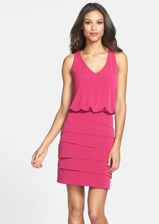Laundry by Shelli Segal Tiered Blouson Dress (Nordstrom Online Exclusive)