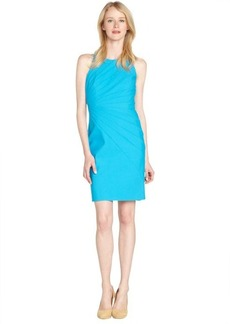 Laundry by Shelli Segal true blue seamed front travel stretch dress