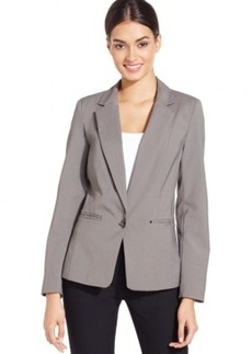 Laundry by Shelli Segal Twist-Lock Double-Vent Jacket