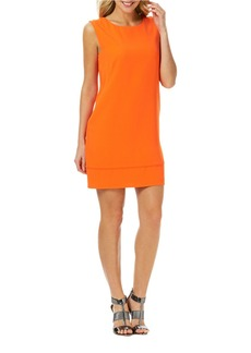 LAUNDRY BY SHELLI SEGAL V-Back Sheath Dress