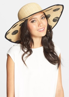 Laundry by Shelli Segal 'Valerie' Straw Hat