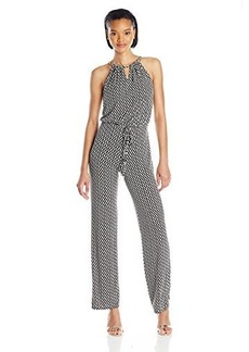 laundry BY SHELLI SEGAL Women's Chain Neck Jumpsuit