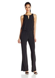 laundry BY SHELLI SEGAL Women's Cowl Back Jumpsuit