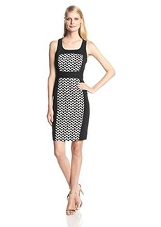 laundry BY SHELLI SEGAL Women's Graphic Jacquard Dress