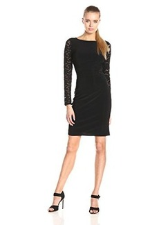 laundry BY SHELLI SEGAL Women's Lace Back Cocktail Dress