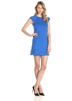 laundry BY SHELLI SEGAL Women's Pop Dot Shift Dress, Bright Blue Beret, 6