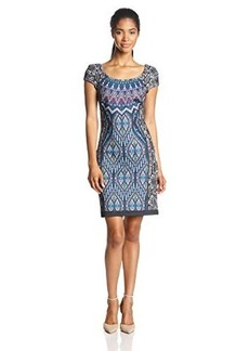 Laundry by Shelli Segal Women's Print-Neoprene Dress