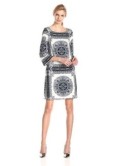 laundry BY SHELLI SEGAL Women's Printed Shift Dress