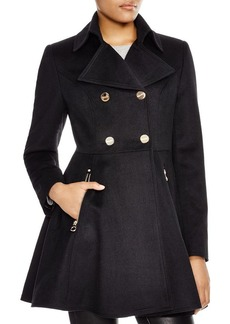 Laundry by Shelli Segal Wool Flare Coat