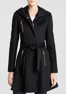 Laundry by Shelli Segal Wool Wrap Coat