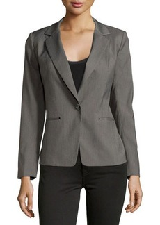 Laundry by Shelli Segal Woven Suit Jacket