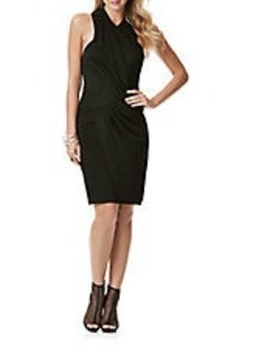 LAUNDRY BY SHELLI SEGAL Wrap Front Cocktail Dress