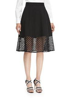 Lace-Hem Skirt   Lace-Hem Skirt