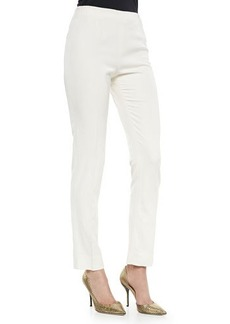 Lela Rose Catherine Side-Zip Pants