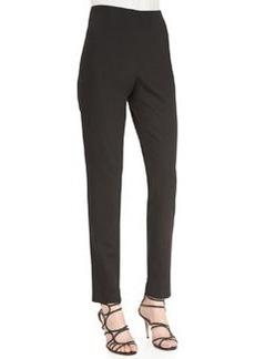 Lela Rose Catherine Slim Cropped Pants