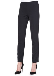 Lela Rose Catherine Straight-Leg Pants