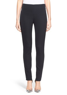 Lela Rose 'Catherine' Stretch Sateen Ankle Pants