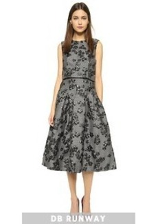Lela Rose Full Skirt Dress