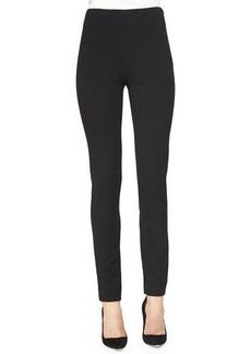 Lela Rose Ponte Side-Zip Pants