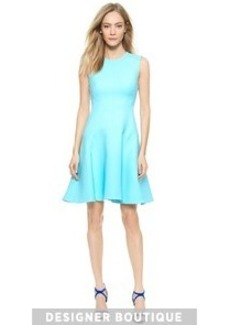 Lela Rose Seamed Sheath Dress