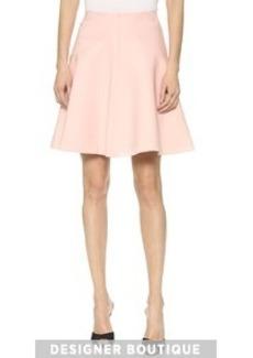 Lela Rose Seamed Skirt