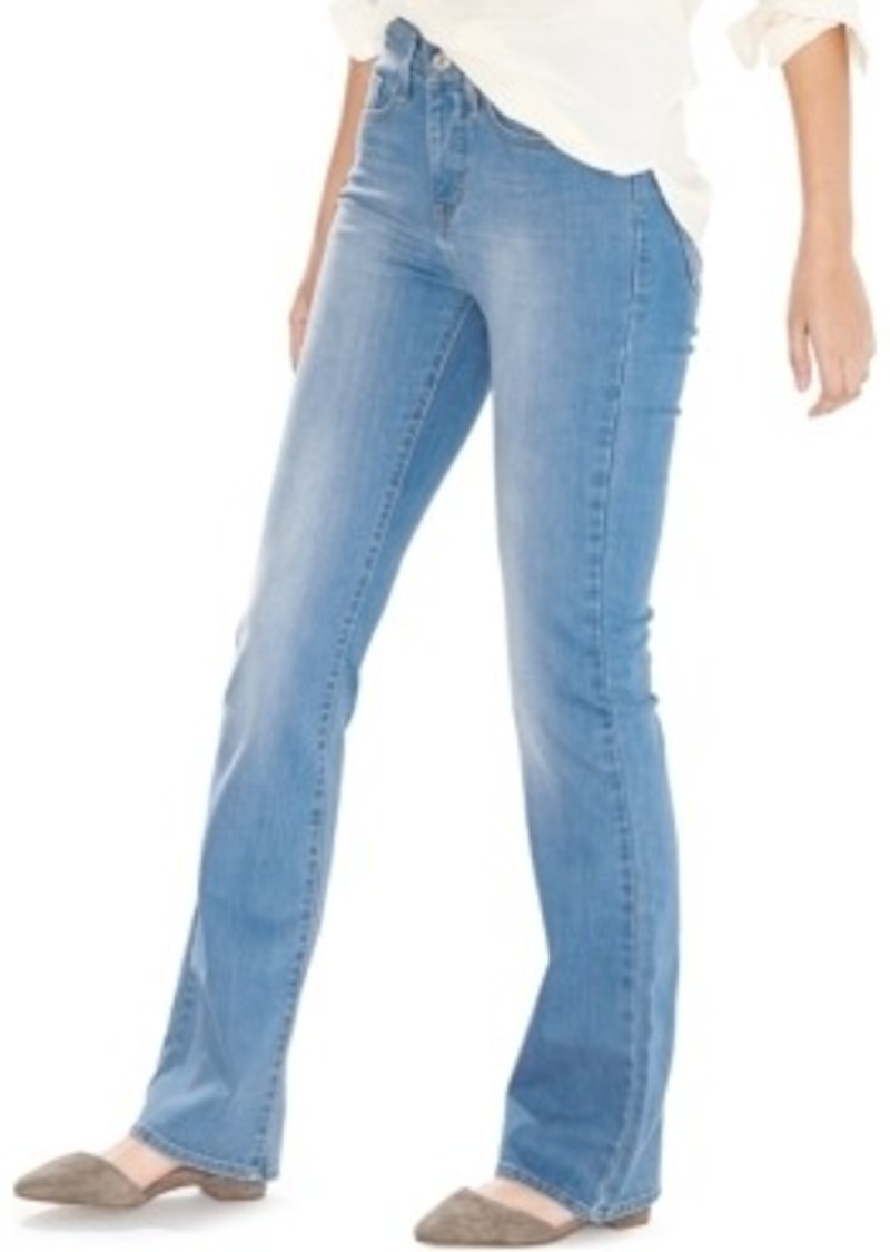 levi 39 s levi 39 s 315 shaping bootcut jeans sun faded wash denim shop it to me. Black Bedroom Furniture Sets. Home Design Ideas