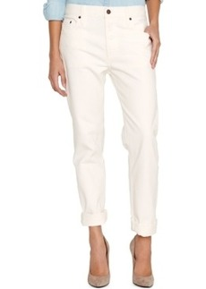 Levi's 501 Ct Customized and Tapered Boyfriend Jean, White Wash