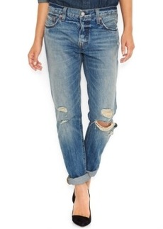 Levi's 501 Ct Customized and Tapered Boyfriend Jeans, Medium Wash