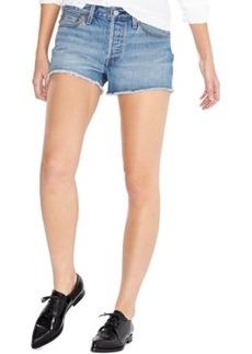 Levi's 501 Cutoff Denim Shorts, Morning Haze Wash