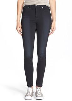 Levi's® '721' High Rise Skinny Jeans (Dark)