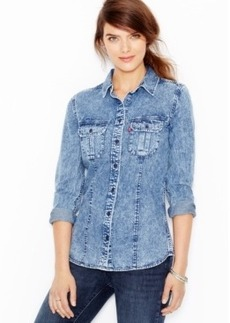 Levi's Acid-Wash Denim Shirt