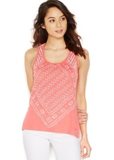 Levi's Bandana Print Easy Fit Tank Top