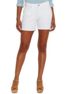 Levi's Classic Denim Shorts, White Wash