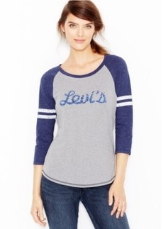 Levi's Colorblocked Graphic Raglan Tee